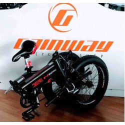 20 INCH SHIMANO 7 SPEED GEAR DISC FOLDING FAT E BIKE