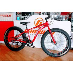 "26"" SHIMANO 7 SPEED FATTY DISC BIKE"