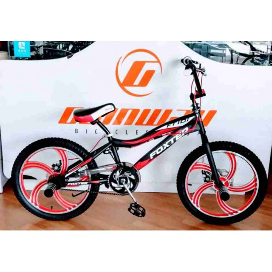 FOXTER 20 INCH FREESTYLE BMX DISC BIKE