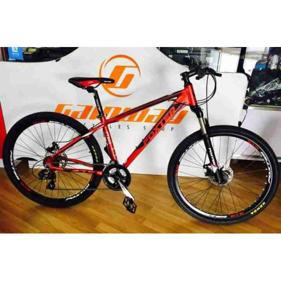 FOXTER 27.5 ALLOY MTB SHIMANO 24SPEED GEAR DISC BIKE 303