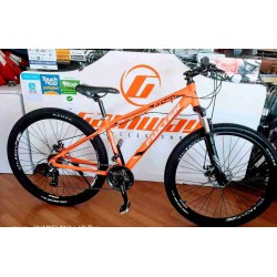 FOXTER 29 INCH ALLOY MTB SHIMANO GEAR DISC BIKE
