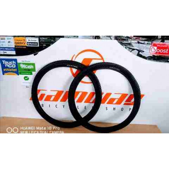 2X FOXTER 26 X 1.95 BICYCLE TYRE