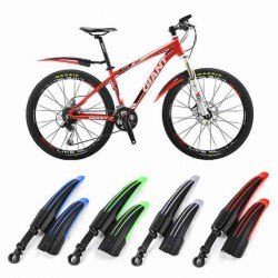 2x BICYCLE COLOR MUDGUARDS