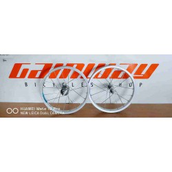 2X BICYCLE ALLOY 16 INCH RIM SET