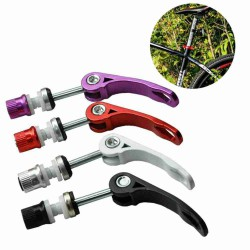 2X BICYCLE ALLOY QUICK RELEASE SEAT CLIP