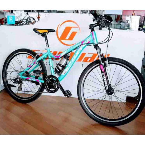 FOXTER 26 INCH ALLOY SHIMANO 24 SPEED ELECTRICAL BIKE
