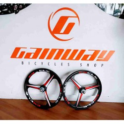 2X BICYCLE MAGNESIUM ALLOY 26 INCH WHEELSET